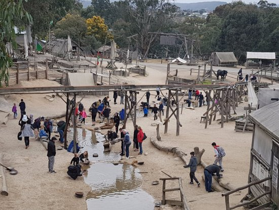 Sovereign Hill: Alluvial Gold Search activity for Kids.
