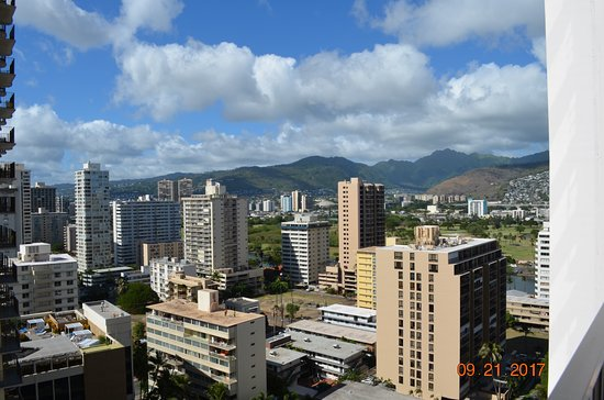 Aston at the Waikiki Banyan : view from the 22nd floor