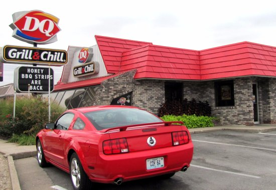 Vandalia Mo GrillnChill...06 GT Fastback..by Carl H. =O~