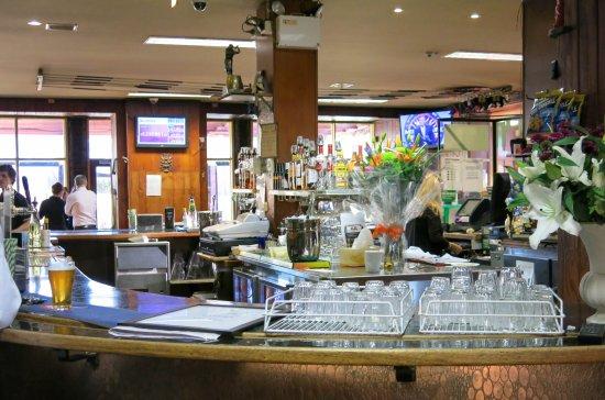 Blackheath, Australië: Busy bar