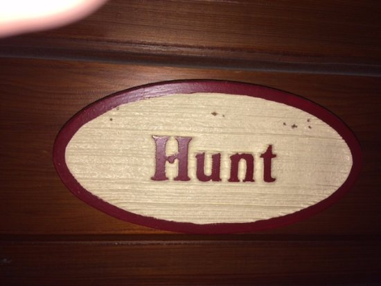 Akron, PA: Hunt room on third floor