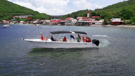 Pointe-Noire, Guadeloupe: Kanel boat...