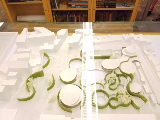Hans Christian Andersen Birthplace: Model of new museum in 2020