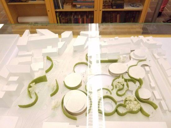 Hans Christian Andersen Museum: Model of new museum in 2020