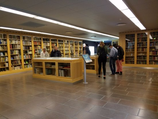 Hans Christian Andersen Museum: Library displaying all the different publications