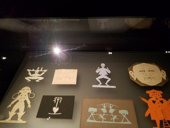 Hans Christian Andersen Museum: Hans Christian Andersen paper cutouts