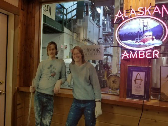 Alaskan Brewery and Bottling Company: Jeff & Marcy, 1986, founders of the brewery
