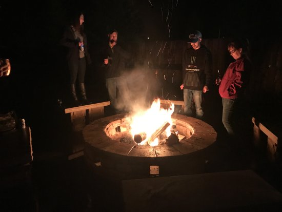 Afton, WY: Firepit