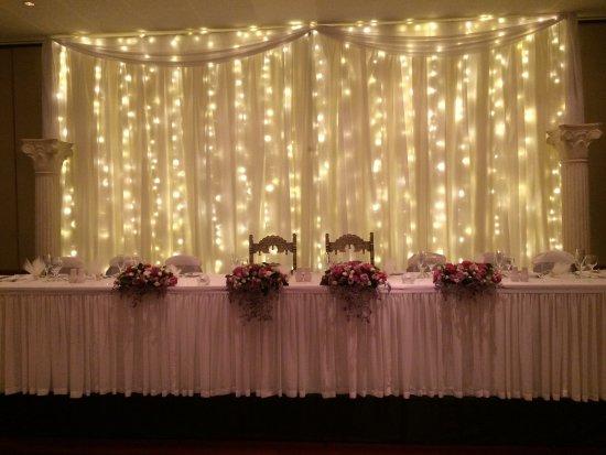 Fairy Lights Backdrop For Wedding