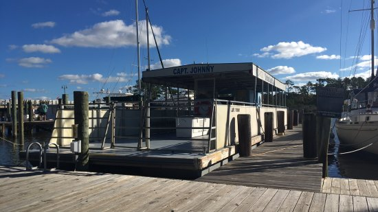 Manteo, NC: Captain Johnny's boat