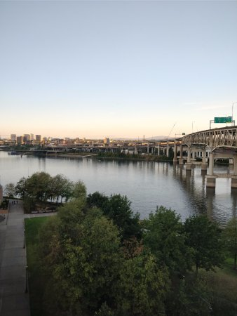 Residence Inn Portland Downtown/Riverplace: View from my room
