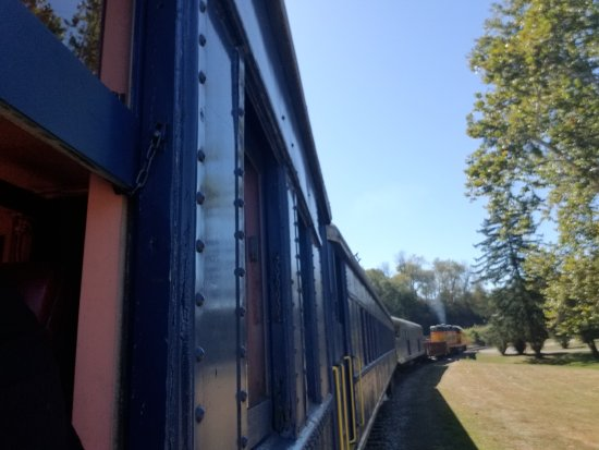 Potomac Eagle Scenic Railroad: Travelled on the train today Was an awesome day  Seen plenty of Eagles