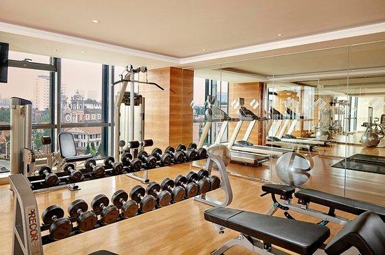 Wuhu, China: Fitness Center