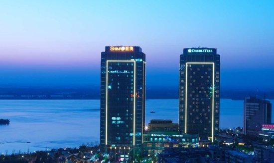 Wuhu, China: Hotel Exterior