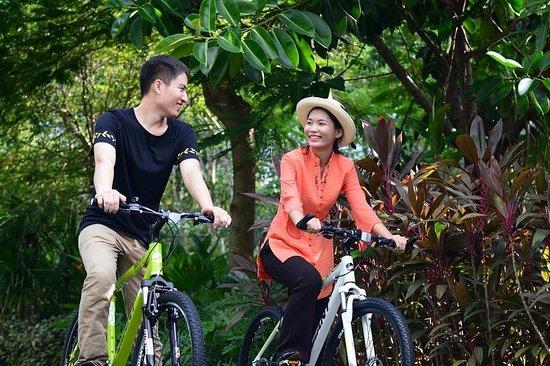 Baoting County, China: Activity-bicycle