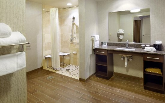 Homewood Suites By Hilton Pittsburgh Airport Robinson Mall Area Pa Accessible Guest Bathroom