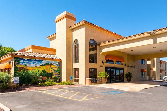 Casa Grande, AZ: Hotel exterior