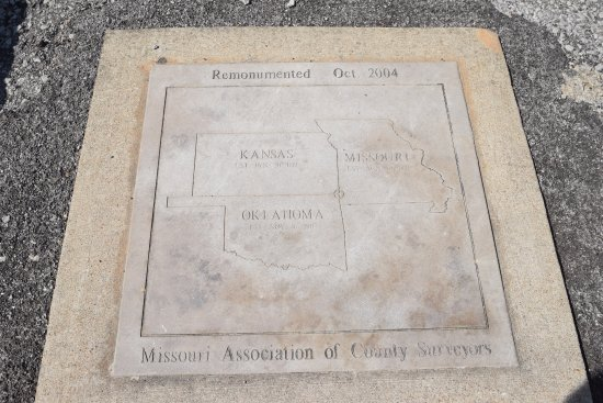 Quapaw, OK: 3-State Marker