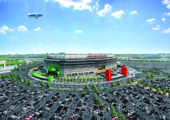 Hasbrouck Heights, نيو جيرسي: MetLife Stadium New Meadowlands Stadium