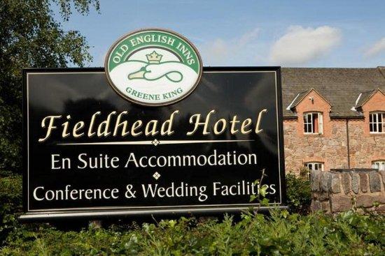 Fieldhead Hotel: Hotel Sign