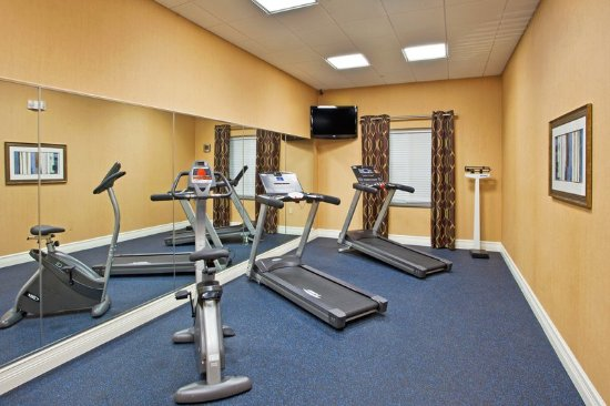 Holiday Inn Express Hotel & Suites Saint Augustine North: Holiday Inn Express and Suites St Augustine Fitness Center