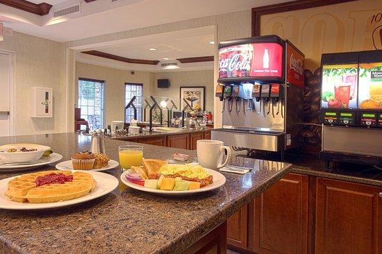 North Brunswick, نيو جيرسي: Breakfast Area