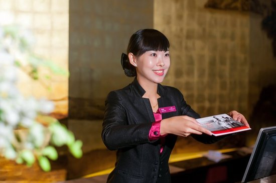 Xiangyang, Chiny: Business Service at Front Desk