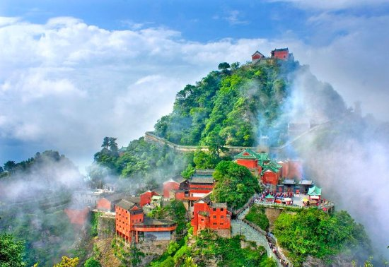 Xiangyang, China: Wudang Mountain