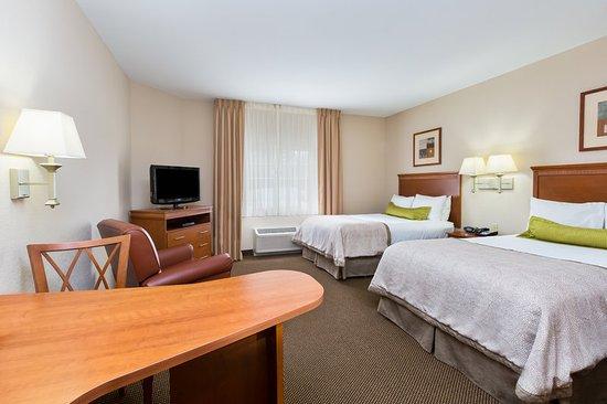 Apex, Carolina del Norte: ADA/Handicapped accessible Double Bed Guest Room
