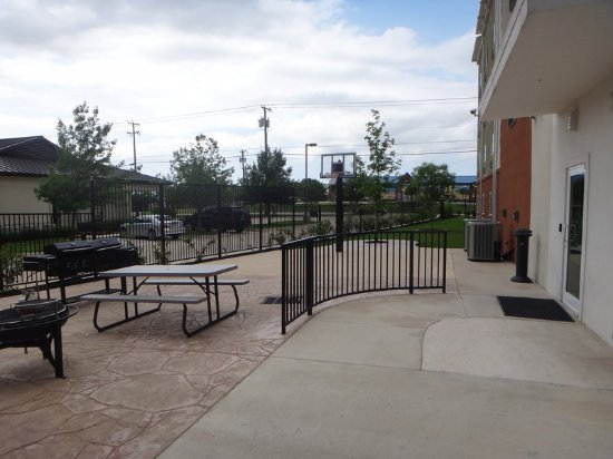 Decatur, TX: Enjoy a meal outdoors on our Guest Patio