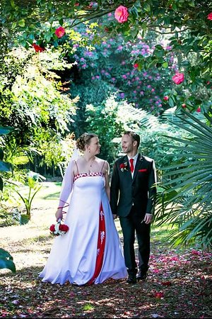 Somersby, Australia: Our Wedding Day at Linton Gardens