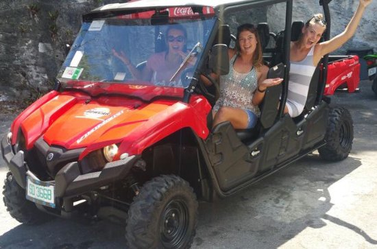 Nassau UTV Ride and Beach Tour with...