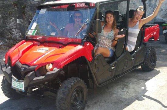 4-Hour Nassau UTV Ride and Beach Tour
