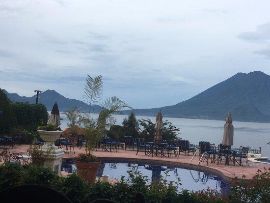 Hotel Atitlan: es la vista desde el restaurante
