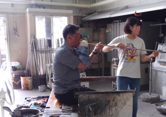 Azumino Glass Factory Tour