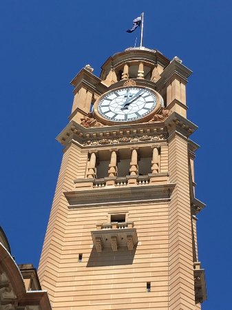 Central Railway Station : The Central Station Clock in Sydney.  taken by Fernando Soriano