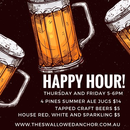 Anchor Cafe Happy Hour