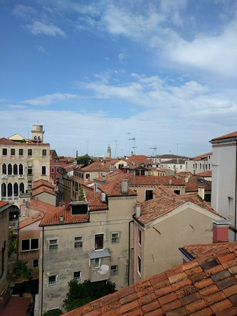 Ca' Pisani Hotel: View from the rooftop terrace