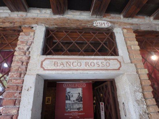 Banco Rosso, Ghetto di Venezia