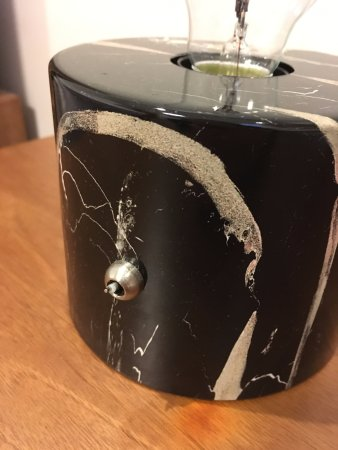 Hotell Arstaberg : bedside lamp not functional