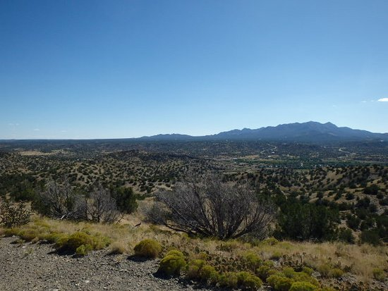 Cerrillos, NM: Great view of the mountains
