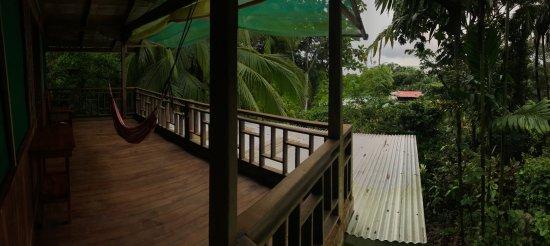 Guaria de Osa Ecolodge: Hammock on our balcony