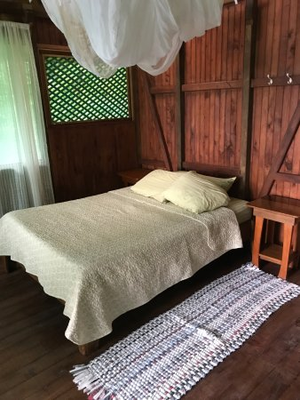 Guaria de Osa Ecolodge: One of the beds in our room