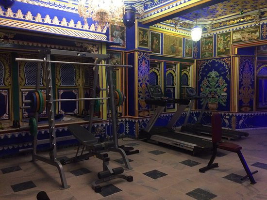 Chunda Palace Hotel: Their eclectic gym