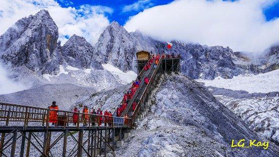 Yulong (Jade Dragon) Mountain: Stunning view