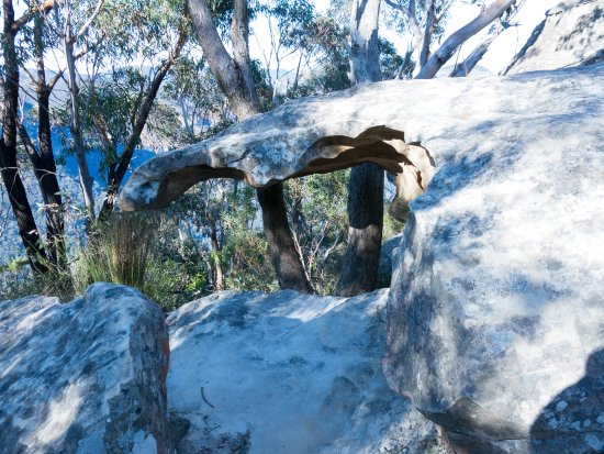 Blackheath, Australia: Eroded sandstone