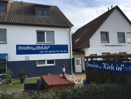 Rerik, Alemania: Pension Kiek in