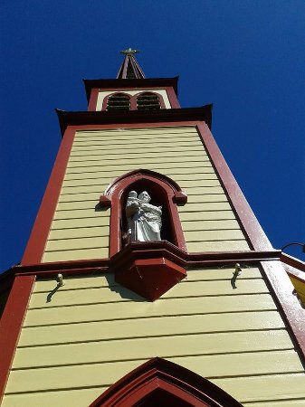 Whanganui, New Zealand: The church at Jersaleum