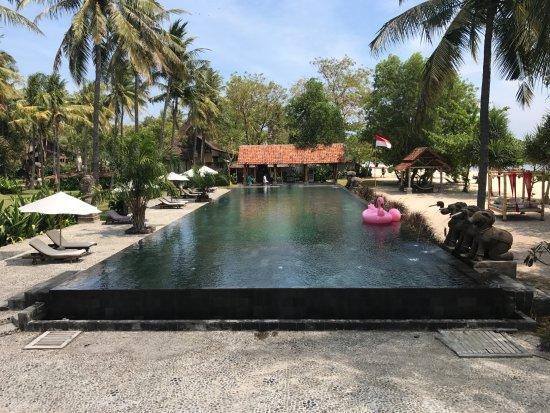 gro er pool picture of hotel tugu lombok lombok tripadvisor. Black Bedroom Furniture Sets. Home Design Ideas