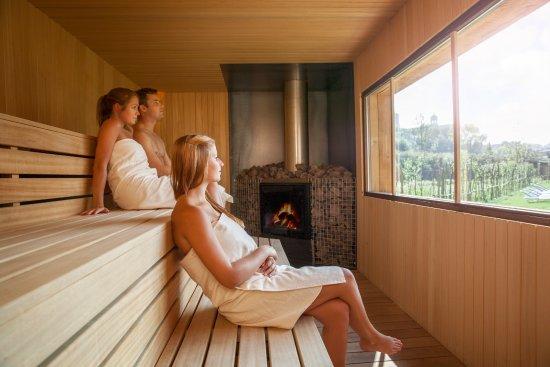 Grimbergen, เบลเยียม: Wood Stove Sauna
